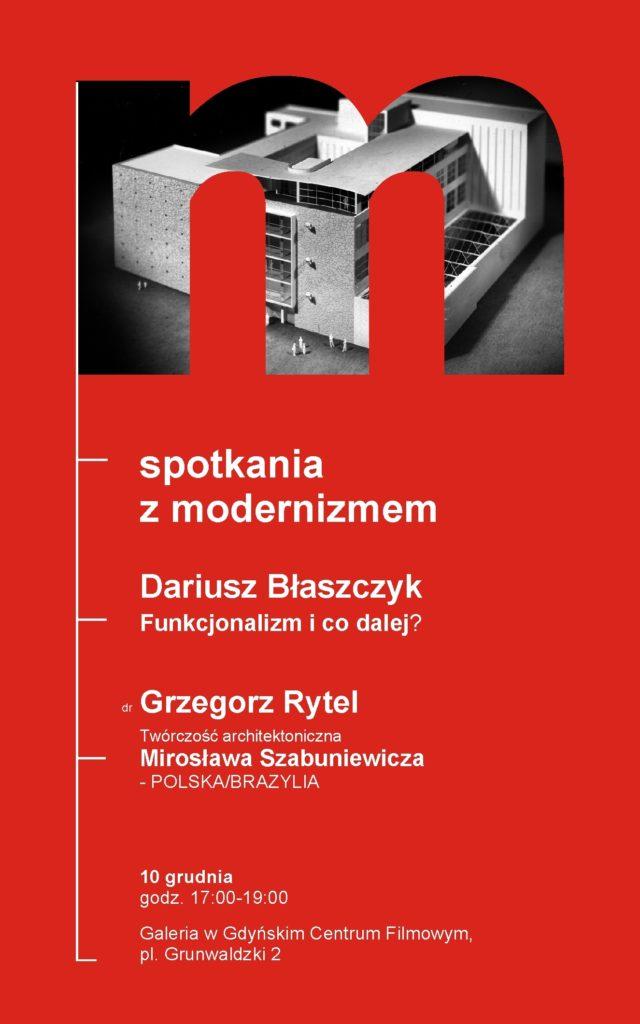 Spotkania z modernizmem. ARCHI-PRELEKCJA w Galerii GCF