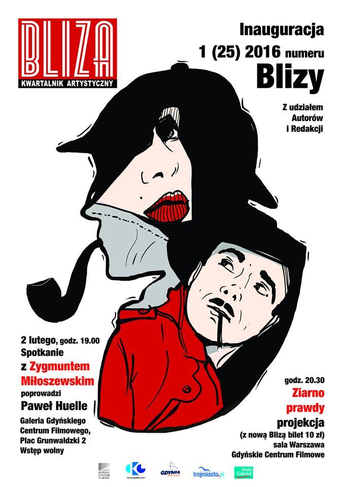 Zygmunt Miłoszewski w Gdyńskim Centrum Filmowym.