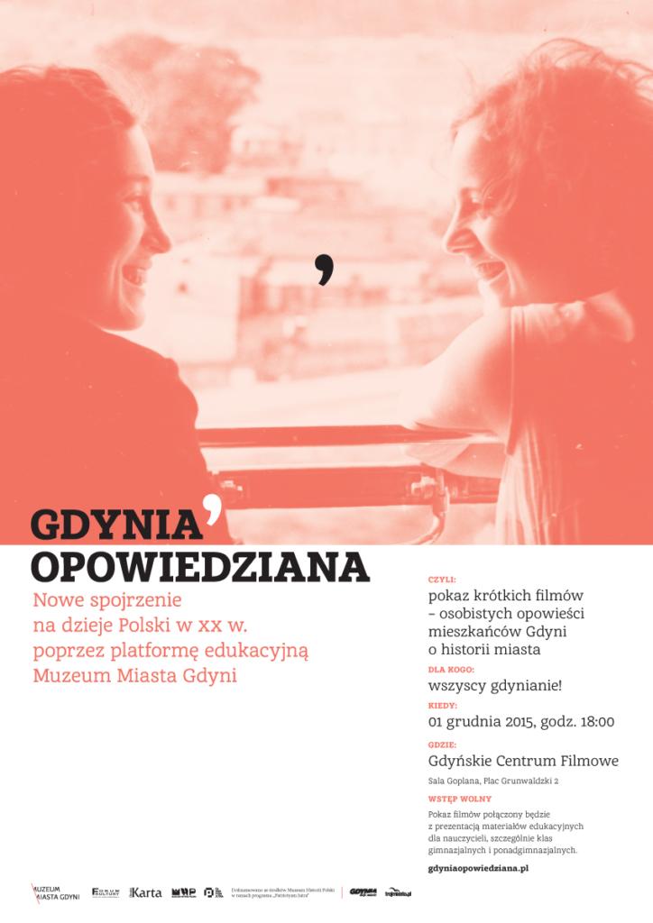 Gdynia opowiedziana. Premiera Muzeum Miasta Gdyni