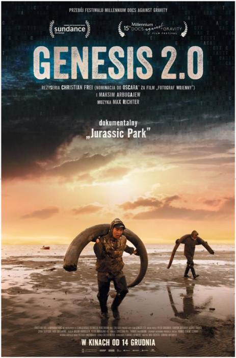 GENESIS 2.0 (FILM + SPOTKANIE)