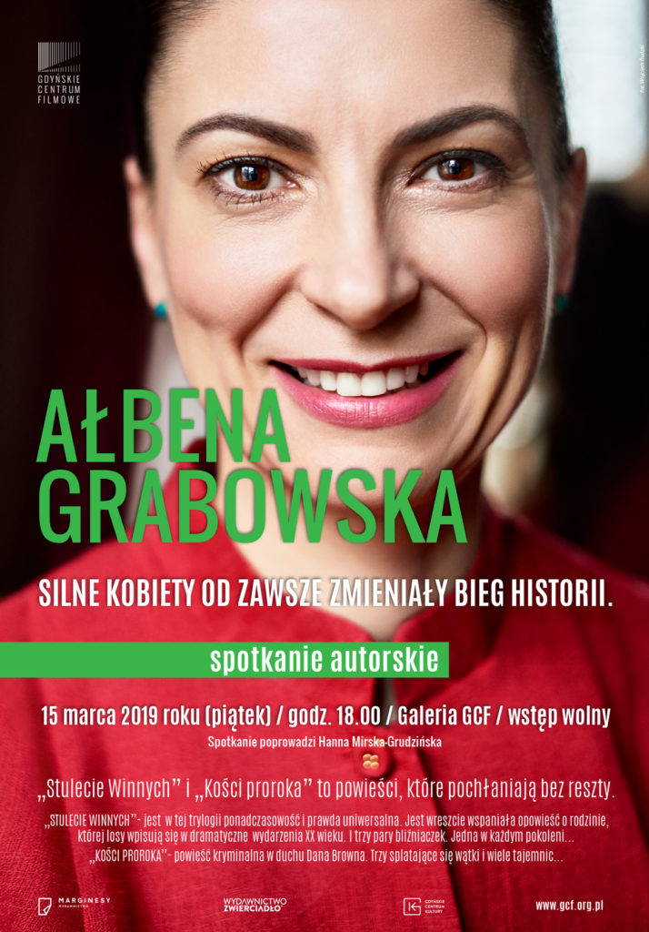 Ałbena Grabowska. Spotkanie autorskie
