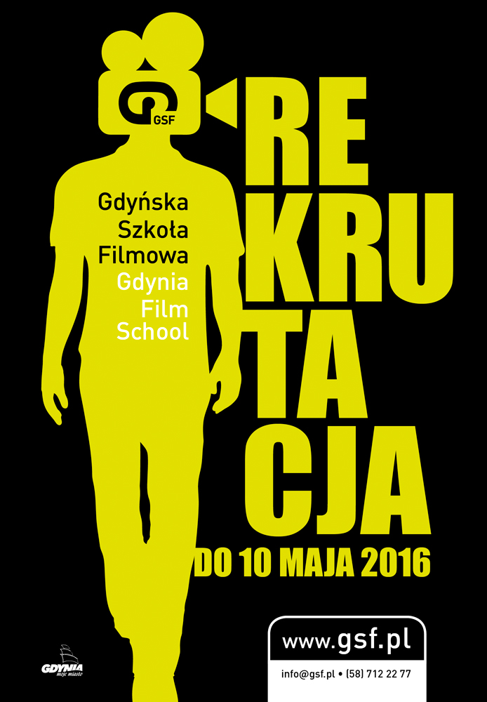 Rekrutacja do Gdyńskiej Szkoły Filmowej