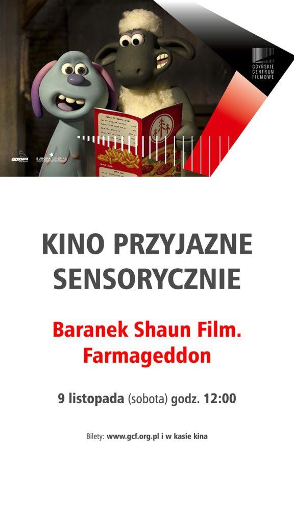 BARANEK SHAUN FILM. FARMAGEDDON (KINO PRZYJAZNE SENSORYCZNIE)