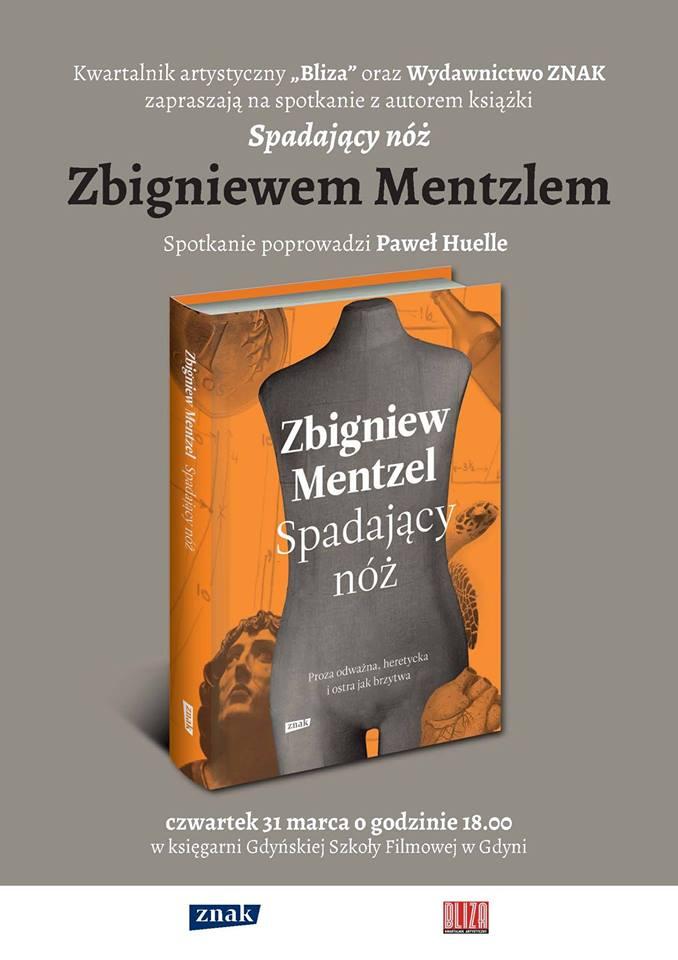 Zbigniew Mentzel, Spadający nóż. SPOTKANIE AUTORSKIE