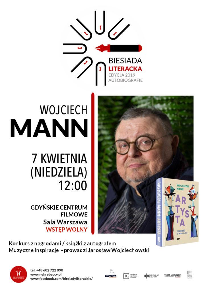 Biesiada Literacka. Wojciech Mann