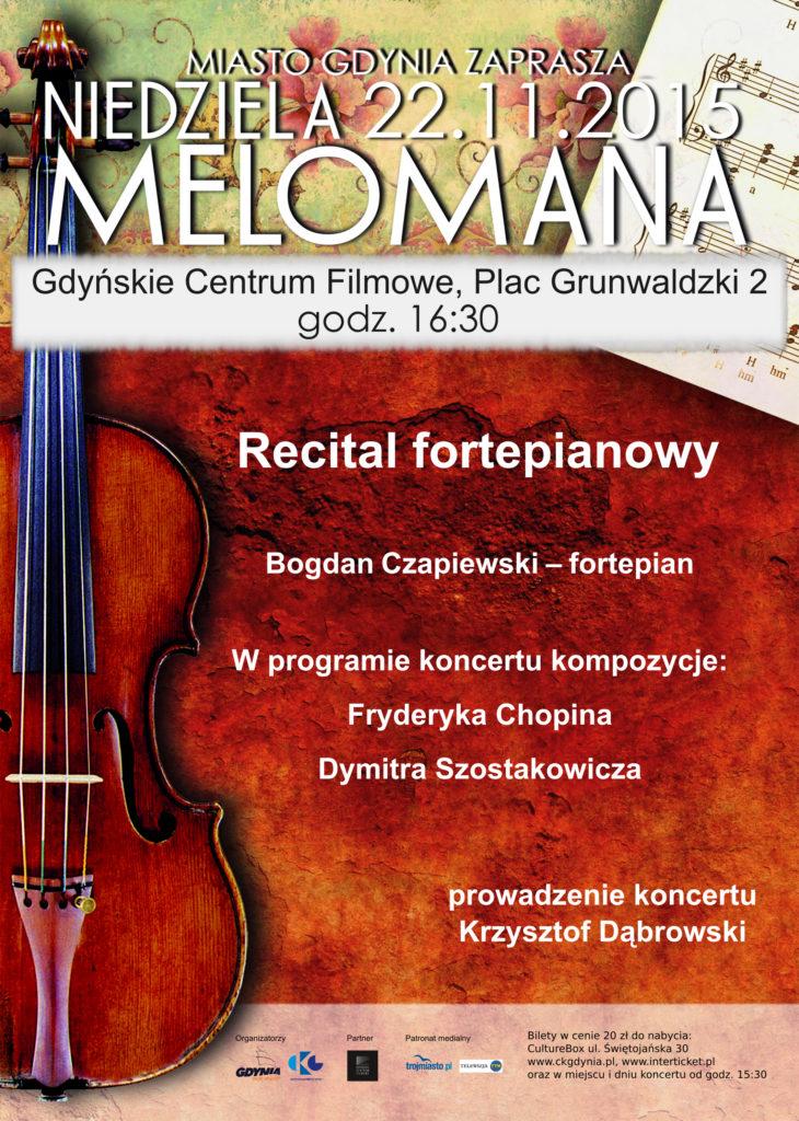Niedziela Melomana. Koncert fortepianowy
