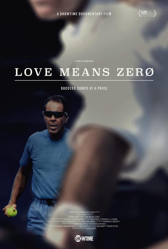 W tenisie love znaczy zero. Filmoterapia