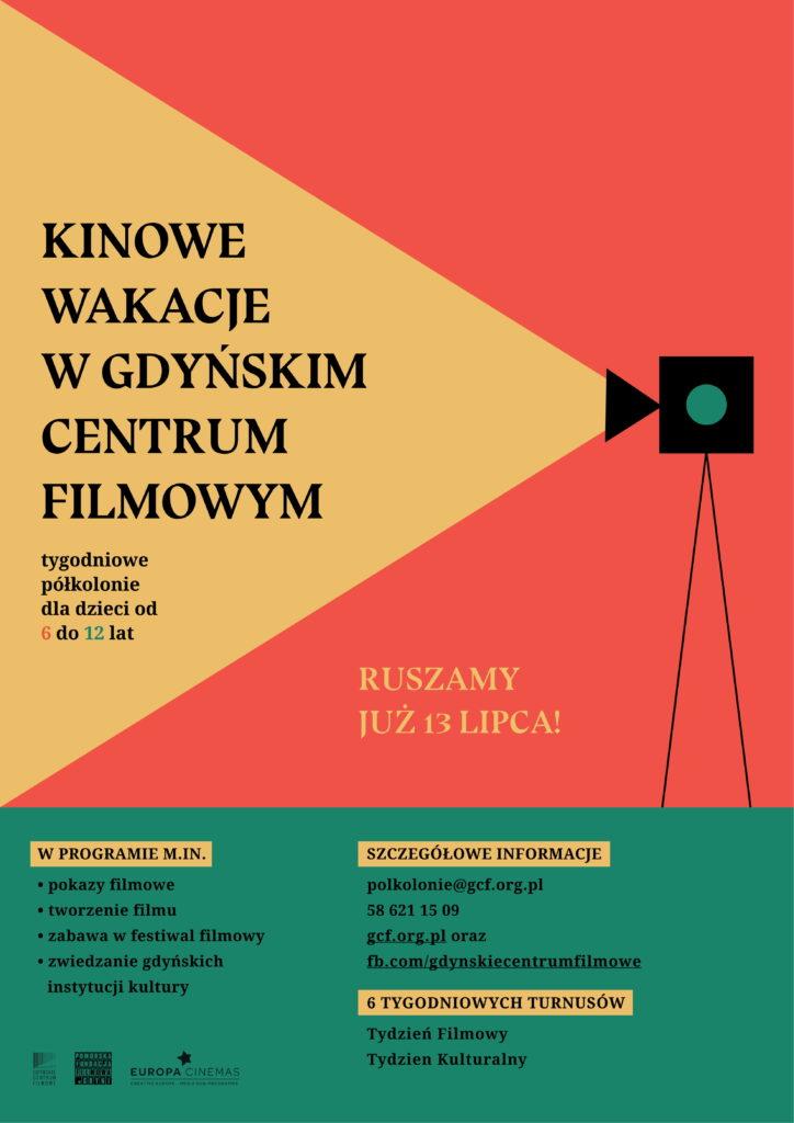 Kinowe wakacje w Gdyńskim Centrum Filmowym