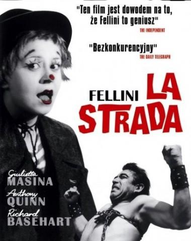 LA STRADA (MISTRZOWIE KINA EUROPEJSKIEGO) FILM + SPOTKANIE
