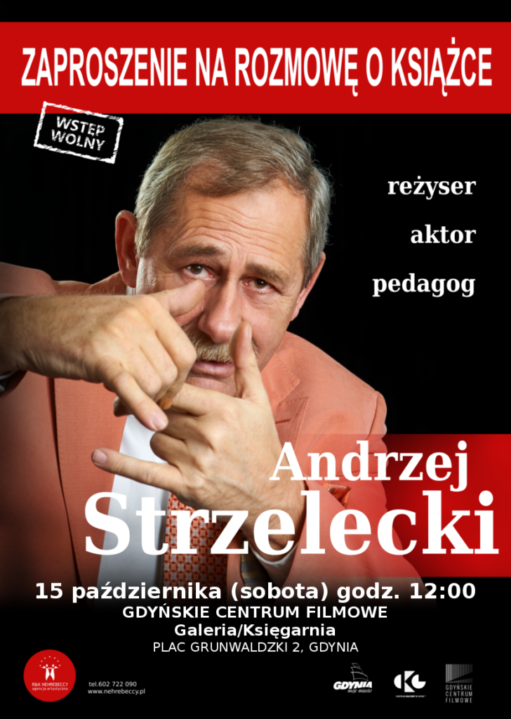 Andrzej Strzelecki w Gdyńskim Centrum Filmowym