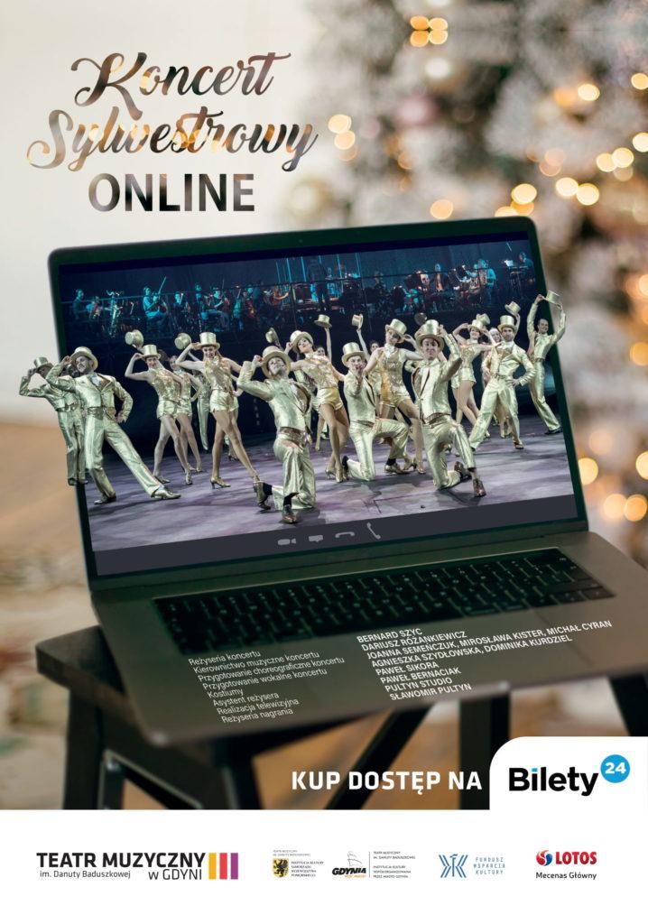 Koncert Sylwestrowy online w Muzycznym!