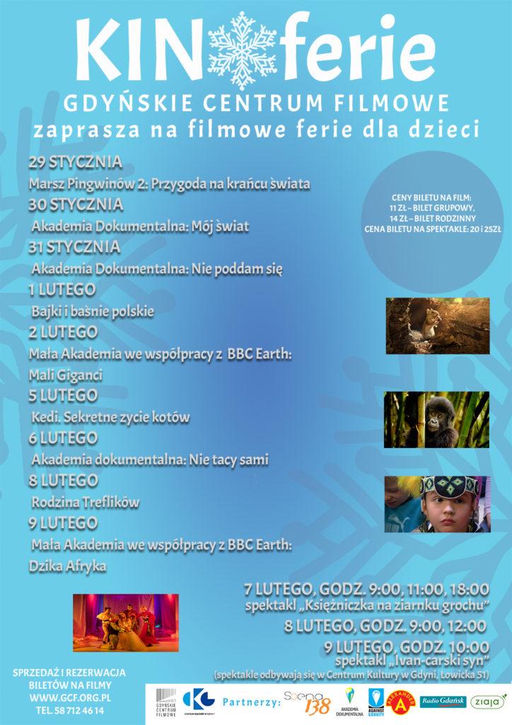 KINOferie w Gdyńskim Centrum Filmowym