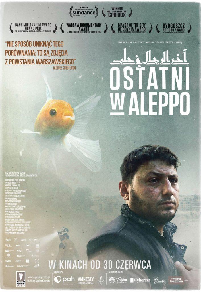 """Filmoterapia z Sensem. """"Ostatni w Aleppo"""""""