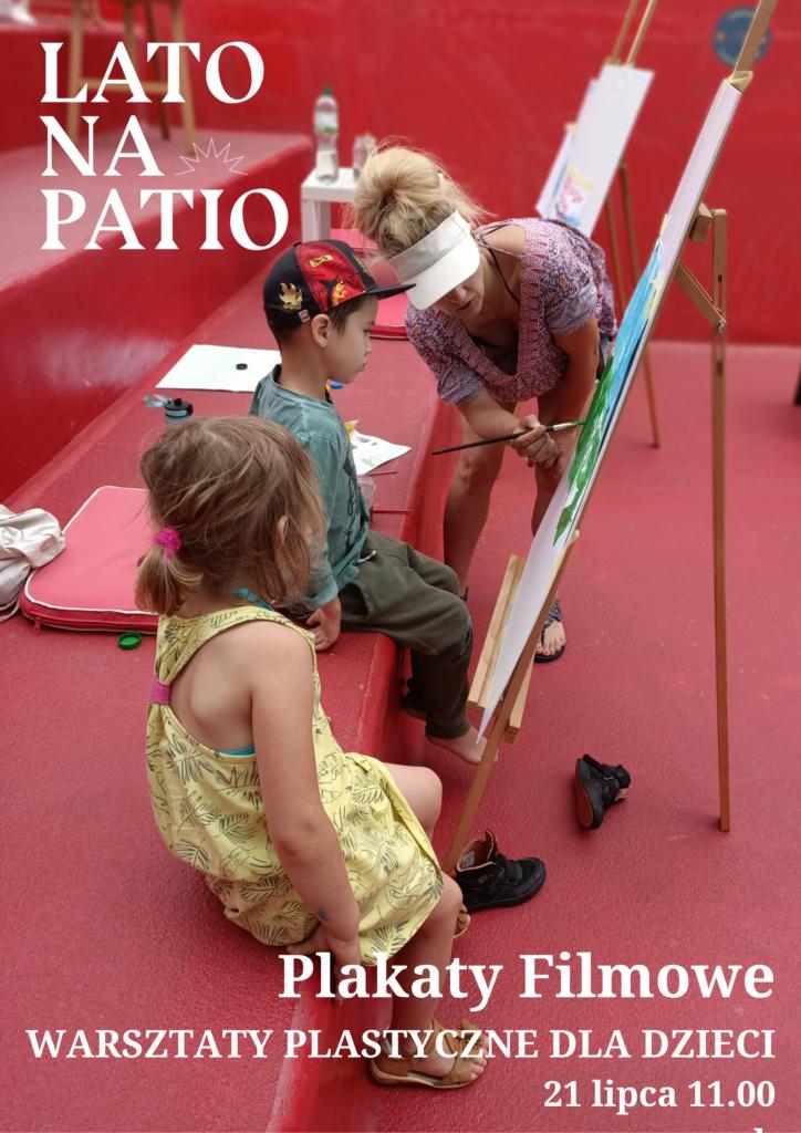 Warsztaty plastyczne dla dzieci. Lipiec 2020