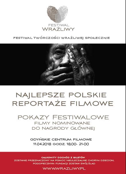 FESTIWAL WRAŻLIWY – PROJEKCJE FILMÓW