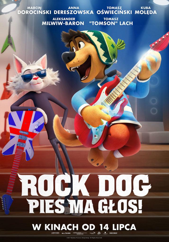 ROCK DOG. PIES MA GŁOS