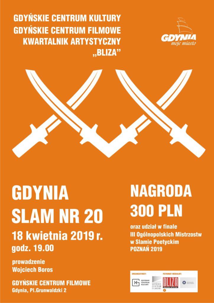 Slam Poetycki. Wiosna 2019