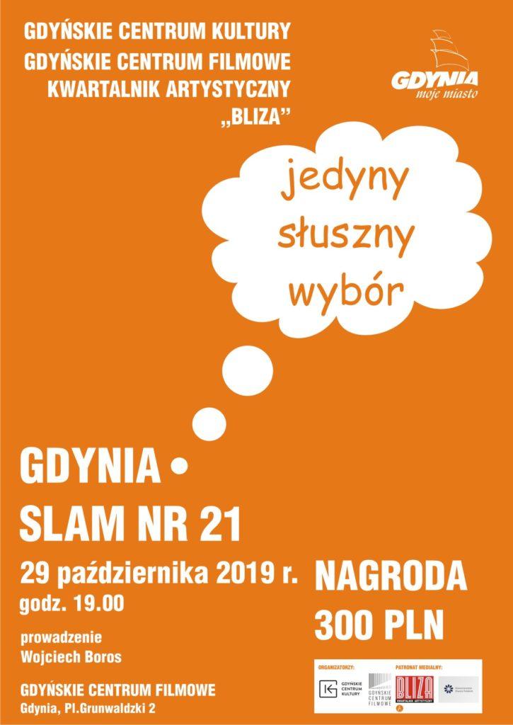 Gdynia Slam. JEsień 2019