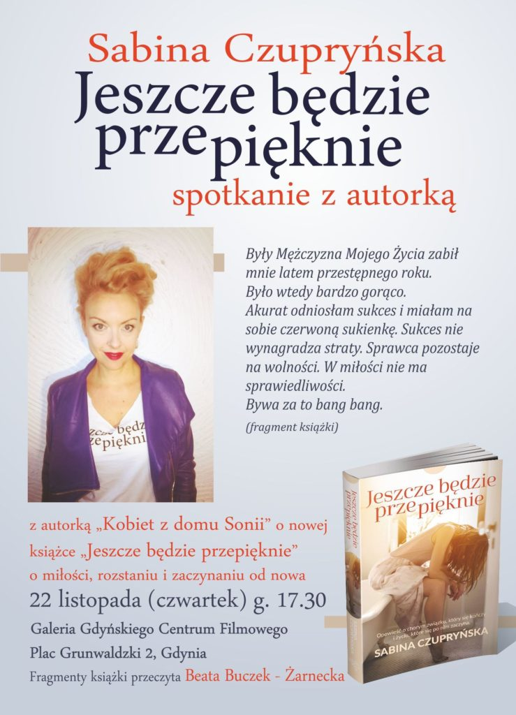 Sabrina Czuprynska. Spotkanie autorskie