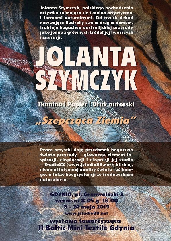 Jolanta Szymczyk: Wystawa