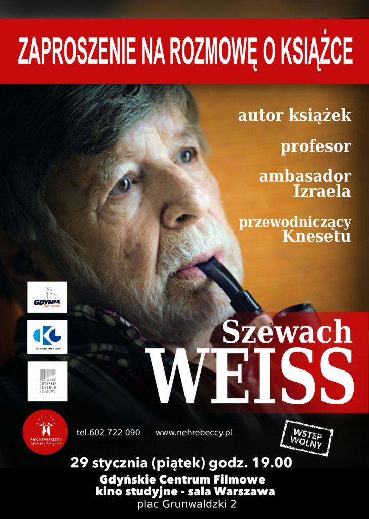 Szewach Weiss w Gdyńskim Centrum Filmowym
