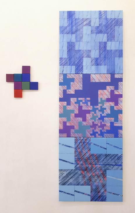 Wystawa w Galerii GCF. MALARSTWO Aleksandy Jadczuk