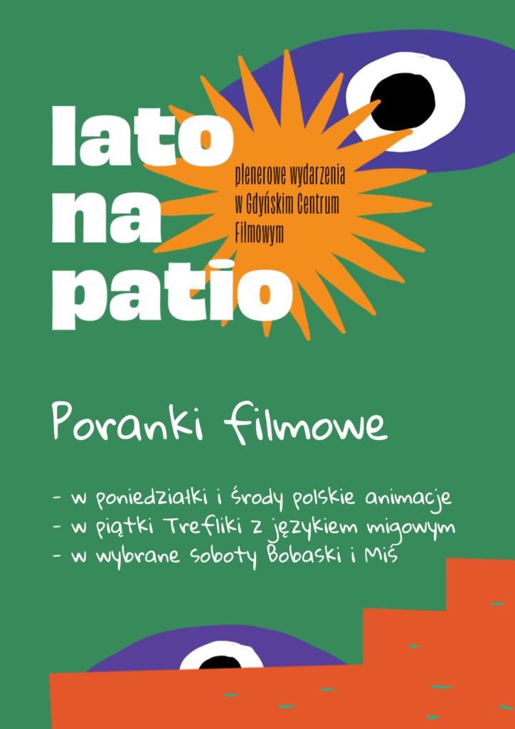 Lato na Patio. Poranki filmowe dla dzieci