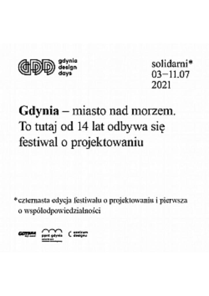 """GDD 2021 """"Solidarni""""   Wystawy w Galerii GCF"""