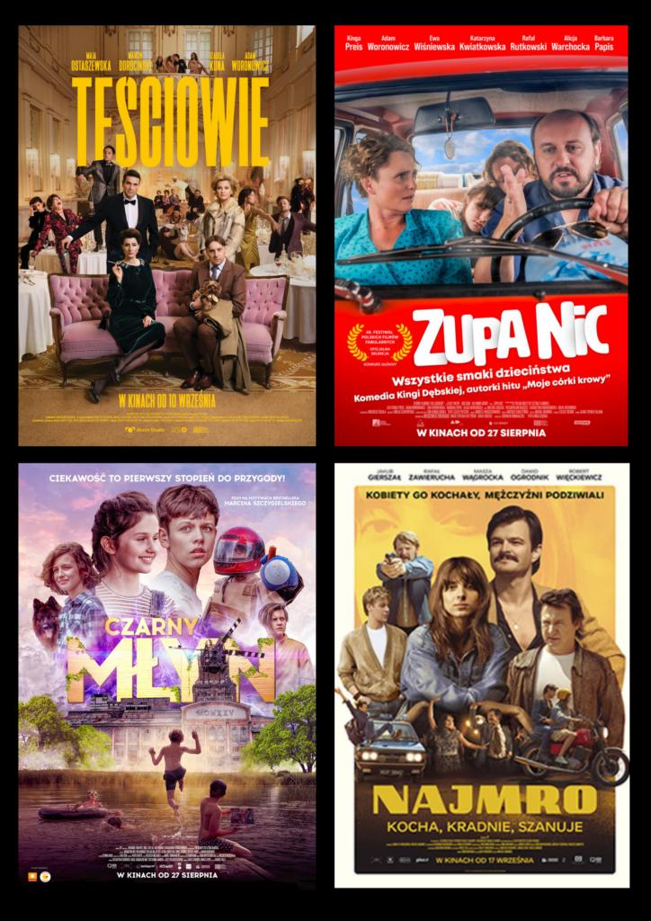 Polskie filmowe premiery i przedpremiery. #CHODŹDOKINA