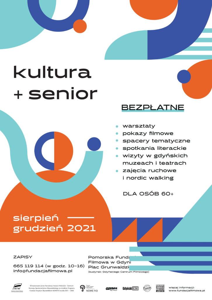 KULTURA+SENIOR. Plan wydarzeń na sierpień – wrzesień 2021